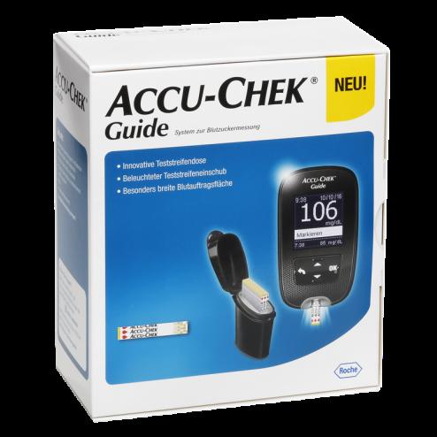 Accu-Chek Guide mg/dl, Blutzuckermessgerät - 1 Set