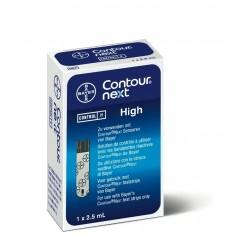 Contour Next High - Kontrolllösung, 1 x 2,5 ml, 1 Stück