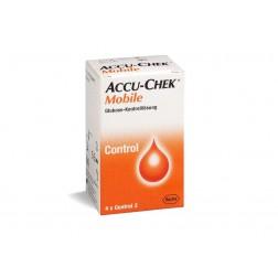 Accu-Chek Mobile Control - Kontrolllösung, 1 x 4 ml