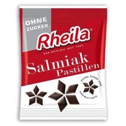 Rheila Salmiak Pastillen zuckerfrei 90 g, 1 Stück