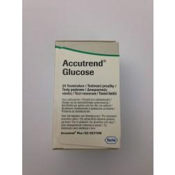 Accutrend Glucose Teststreifen, 25er