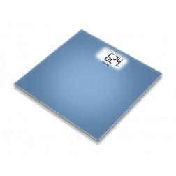 Beurer GS 208 blue Design - Glaswaage, 1 Stück