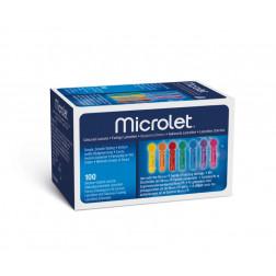 Microlet coloured - Lanzetten, 100 Stück