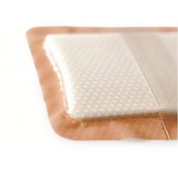 Schaumstoffwundauflage mit Haftrand 12,5 x 12,5 cm, 10 Stück