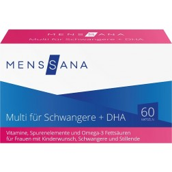 Multi für Schwangere + DHA MensSana Kapseln, 60 Stück