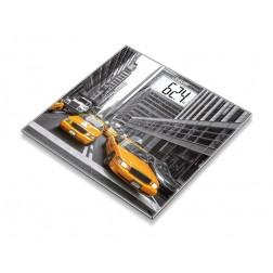 Beurer GS 203 New York Design - Glaswaage, 1 Stück