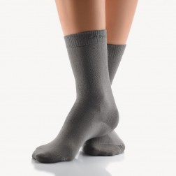 Bort SoftSocks normal Gr. 44 - 46 silbergrau, 1 Paar