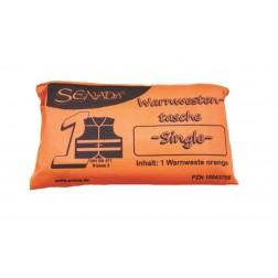 Senada Warnweste orange - Single Tasche-, 1 Stück