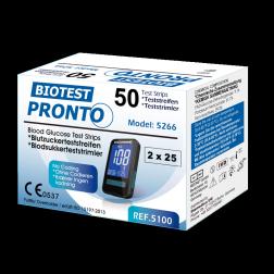 Pronto Biotest Blutzuckerteststreifen 50 Stück