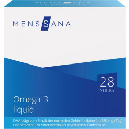 Omega-3 liquid MensSana, 28 Sticks