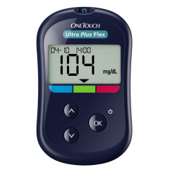 One Touch Ultra Plus Flex Blutzuckermessgerät - 1 Set,  mg/dl, 1 Stück