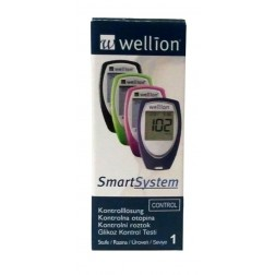 Wellion TrueTrack Stufe 1 mittel - Kontrolllösung, 1 x 3,0 ml, 1 Stück