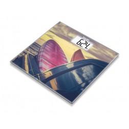 Beurer GS 203 Surf Design - Glaswaage, 1 Stück