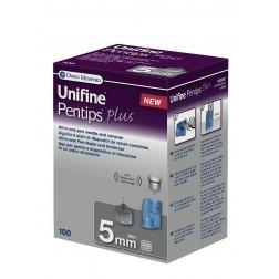 Unifine Pentips plus 5 mm - Pen Nadeln, 100 Stück