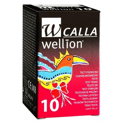 Wellion Calla Blutzuckerteststreifen, 10 Stück