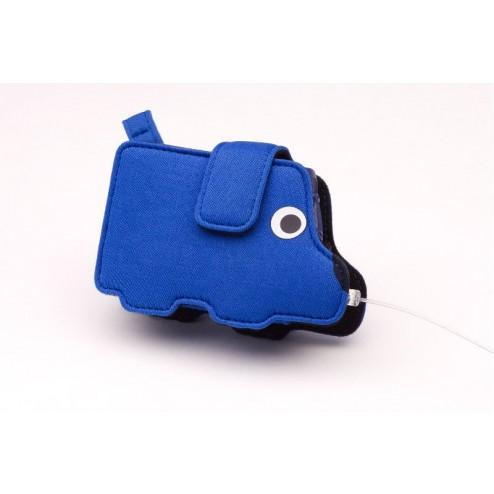 Tragesystem für Kinder  Blauer Hund  - für Accu-Chek Spirit und Combo, 1 Stück