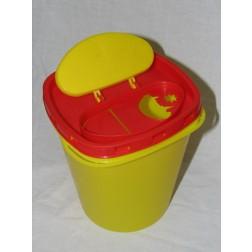 Abfallbox 1,9 l f. Kanülen u. Spritzen, 1 Stück
