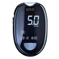 Aktivmed GlucoCheck Gold Blutzuckermessgerät - 1 Set,  mmol/l, 1 Stück