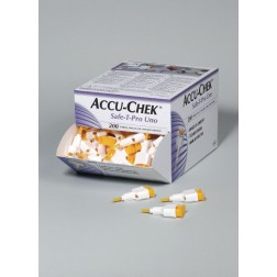 Accu-Chek Safe-T-Pro Uno, 200 Stück