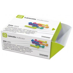 mylife Lancets multicolour, 200 Stück