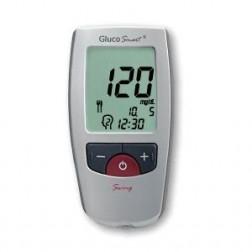 GlucoSmart Swing Blutzuckermessgerät - 1 Set, mg/dl + mmol/l
