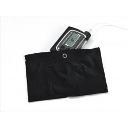 Trageband für den Oberschenkel L schwarz - für Accu-Chek Spirit und Combo, 1 Stück