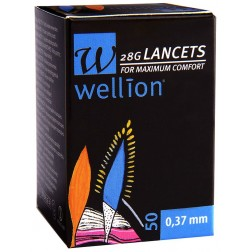 Wellion 28G steril Lancets, 50 Stück