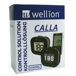 Wellion Calla Control Stufe 2 Hoch - Kontrolllösung, 1 x 2,5 ml
