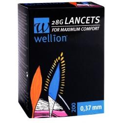 Wellion 28G steril Lancets, 200 Stück