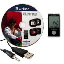 Wellion Calla Dialog USB - Kabel mit Treibersoftware - Set, 1 Stück