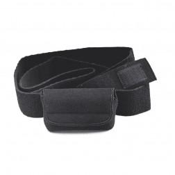 Bauchgurt mit Pumpentasche schwarz - für Medtronic Pumpen ACC-255BK, 1 Stück