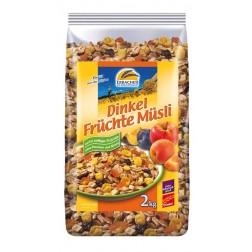 Dinkel-Früchte-Müsli, 2 kg, 1 Stück
