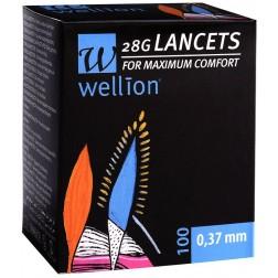 Wellion 28G steril Lancets, 100 Stück