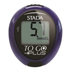 Stada Gluco Result TO GO PLUS Blutzuckermessgerät - 1 Set mmol/l