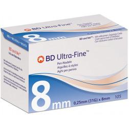 BD ULTRA-Fine, 8 mm - Pen Nadeln, 105 Stück