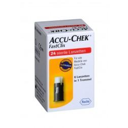 Accu-Chek FastClix Lanzetten, 24 Stück