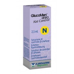 GlucoMen areo 2K Control N - Kontrolllösung, 1 x 2,5 ml