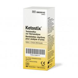 Ketostix - Urinteststreifen, 50 Stück