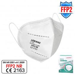 LEIKANG® FFP2 - Atemschutzmaske ohne Ventil, 1 Stück (Maske)