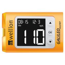 Wellion Galileo GLU/KET gelb Blutzuckermessgerät - 1 Set mg/dl