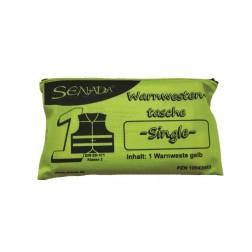 Senada Warnweste gelb - Single Tasche-, 1 Stück