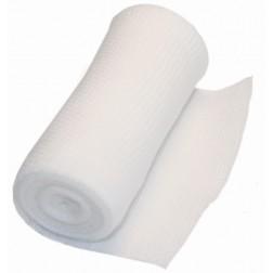 Aktivmed Mullbinde glatt, elastisch, o. Cellop., 8 cm x 4 m, 20 Stück