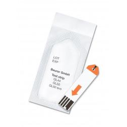 Beurer Sensoren GL 44, GL 50, GL 50 evo  Blutzuckerteststreifen, 50 Stück (einzeln verpackt)
