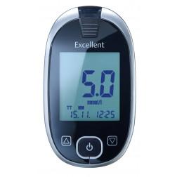 Aktivmed GlucoCheck Excellent Blutzuckermessgerät - 1 Set mmol/l