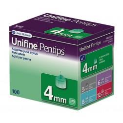 Unifine Pentips 4 mm - Pen Nadeln, 100 Stück