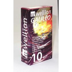 Wellion Galileo Ketone Blutzuckerteststreifen, 10 Stück