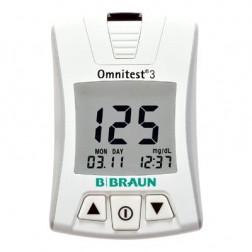 Omnitest 3 weiß solo Blutzuckermessgerät - 1 Gerät mg/dl