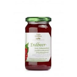 Fruchtaufstrich Erbeer-Johannisbeere zuckerreduziert, 220 g*, 1 Stück