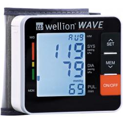 Wellion WAVE Blutdruckmessgerät Handgelenk, 1 Stück