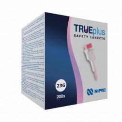 TRUEPlus Safety Lanzetten 23G, 200 Stück